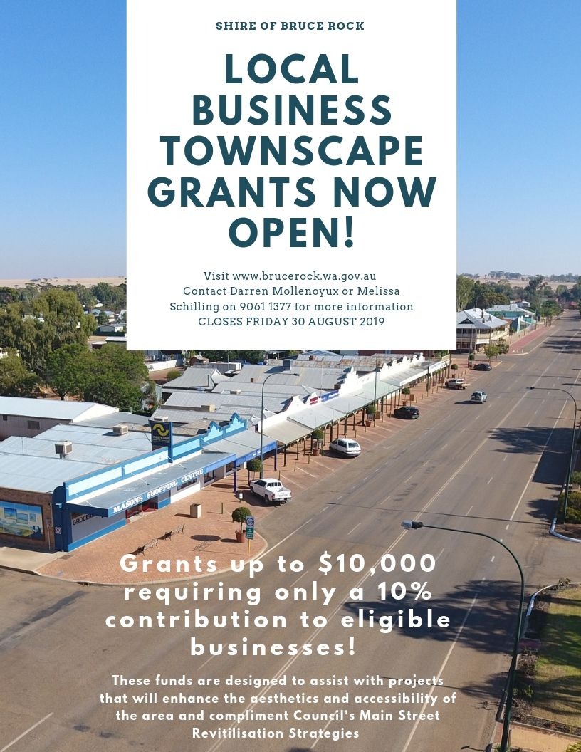Townscape Development Grants