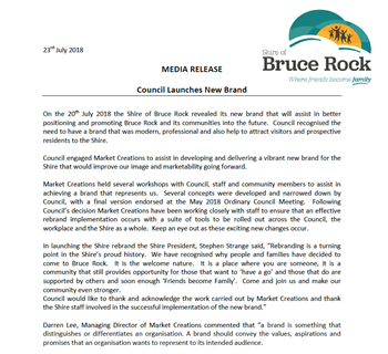Press Release - Council Launches New Brand