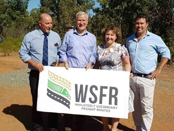 Wheatbelt Secondary Freight Routes Federal Funding