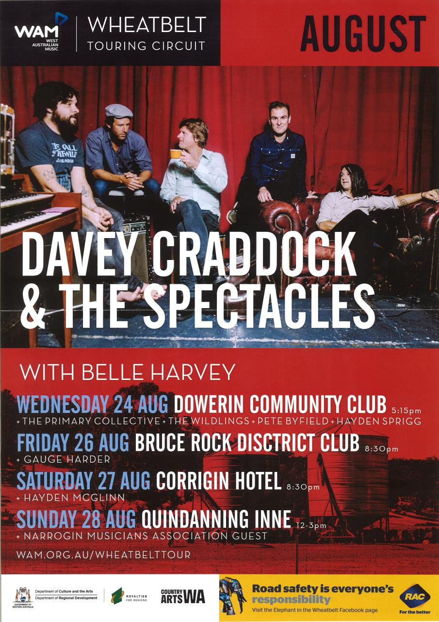 Davey Craddock & the Spectacles